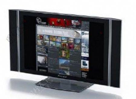 电视机3d模型电器模型图片31