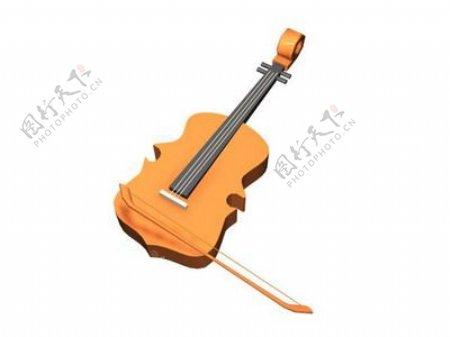 文化体育用品3d乐器模型电器模型25