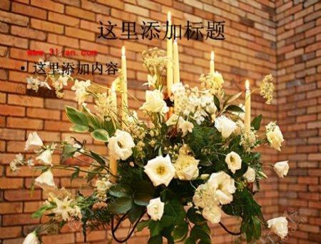 婚礼花束图片ppt