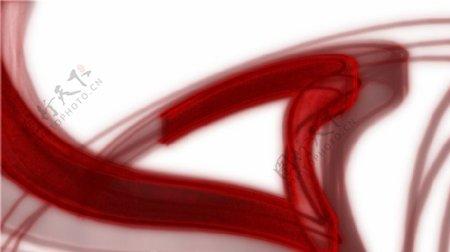 红色条纹视频素材
