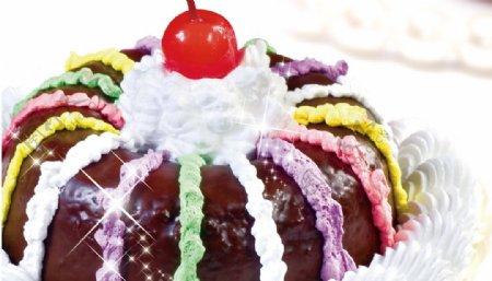 蛋糕冰淇淋图片
