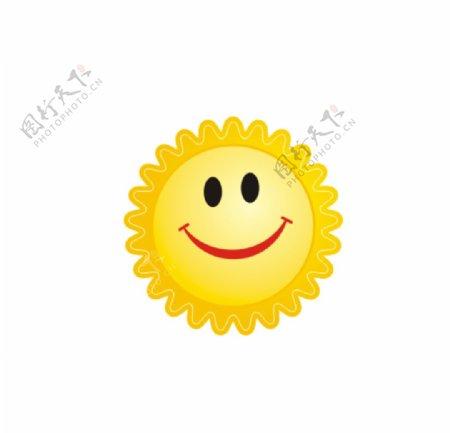 卡通太阳CDR图片