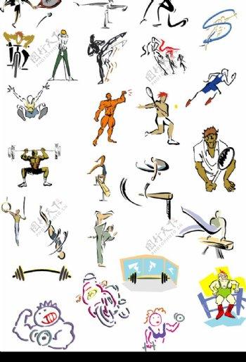 漫画体育图片