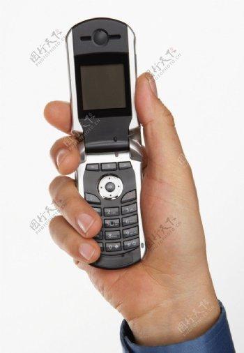 手持手机图片