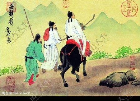 文化艺术绘画书法图片