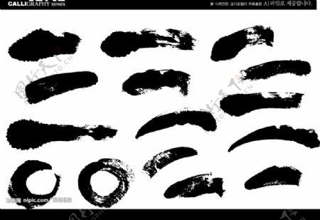 AI墨迹图片