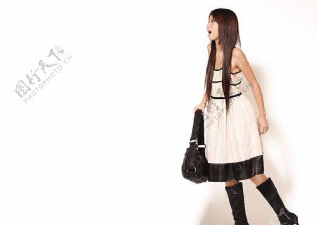 香港模特杨颖图片