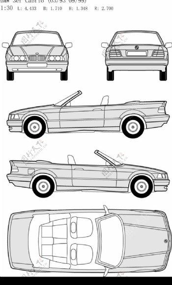 其他矢量矢量素材宝马车EPS格式图片