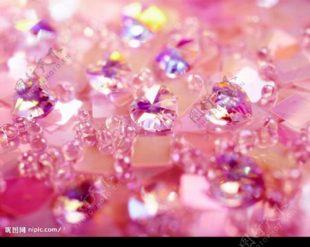 水晶光芒图片