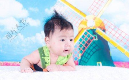 婴儿照片图片