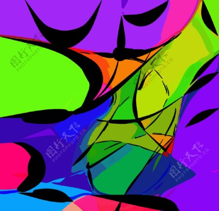 抽象背景抽象图案