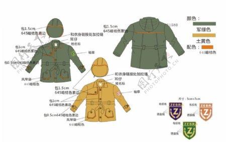 男童服装设计效果图