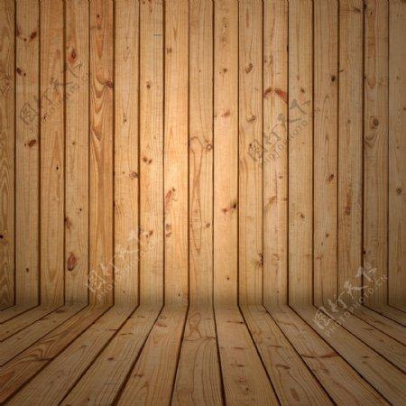 木板展台展示