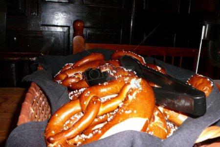 卡盘里的面包架子