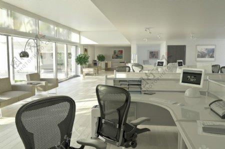 现代办公室设计图片