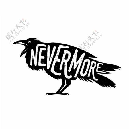 字母小鸟图片