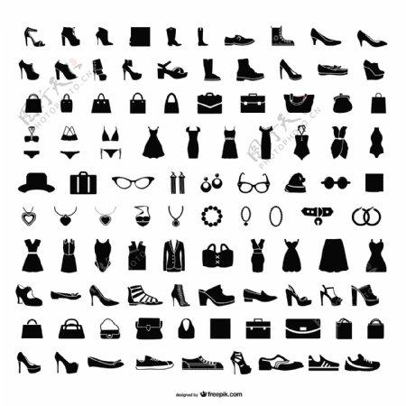 时尚图标集