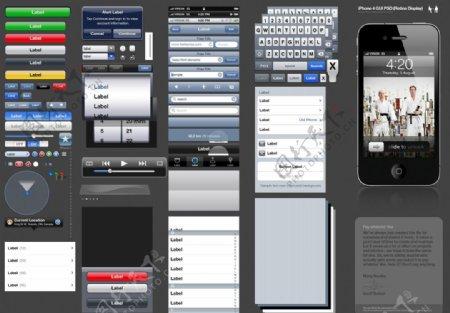 iPhone4用户操作界面