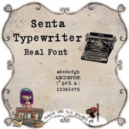 该schreibmaschine字体