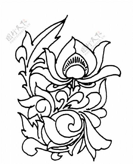 花鸟图案两宋时代图案中国传统图案088