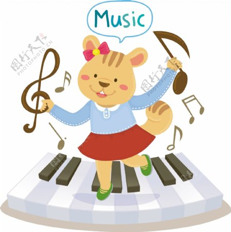 卡通教育音乐素材设计