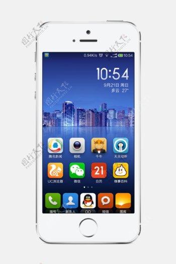 iphone5s设计图素材图片
