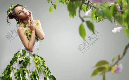 美女人体艺术造型图片