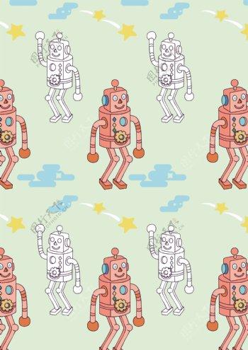 童装机器人匹印
