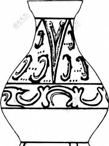 秦汉时代版画装饰画矢量AI格式0612