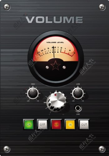 矢量音响调节器