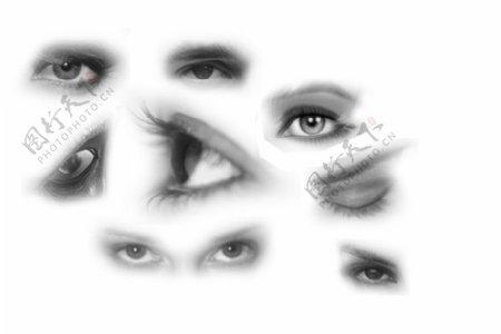 眼睛笔刷abr