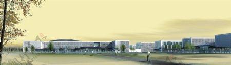 科技学院环境设计图片