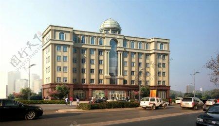 酒店景观环境设计图片