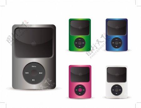 免费的iPod矢量图标