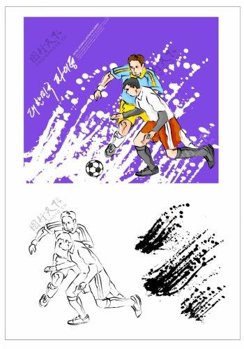笔刷设计应用背景图案矢量素材AI格式0222