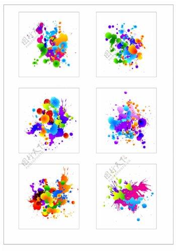 笔刷设计应用背景图案矢量素材AI格式0339