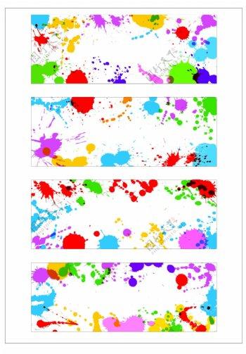 笔刷设计应用背景图案矢量素材AI格式0356