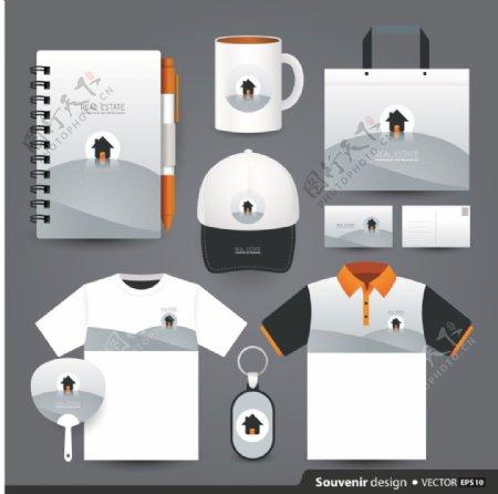 时尚企业文化包装创意vi素材