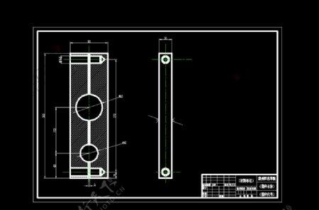 机械设计零部件图制造dwg格式