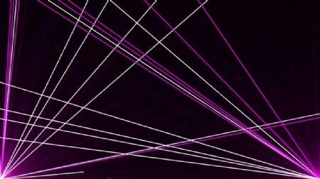 时尚的紫色镭射激光线条VJ循环视频素材