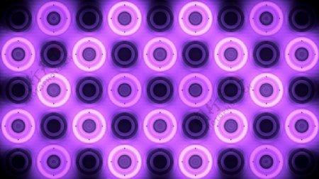 酷炫紫色辉光背景VJ视频素材