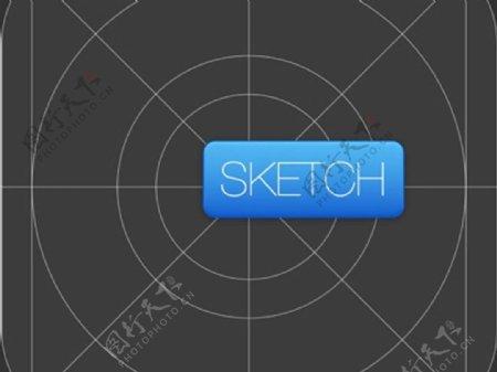 iOS7网格图标sketch素材
