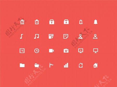 网页Icons图标下载