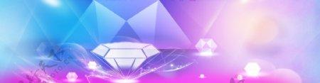 五彩钻石网页活动背景