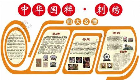 中华国粹刺绣