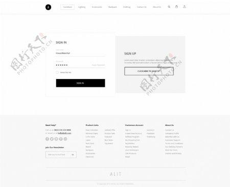 UI网页页面设计