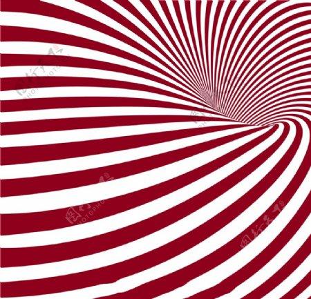 抽象的红色条纹