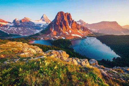 加拿大山峰
