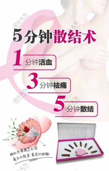 粉红丝带预防乳房疾病