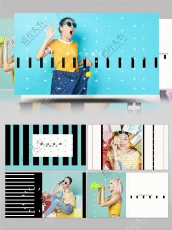新店开业流行时尚产品广告促销宣传AE模板